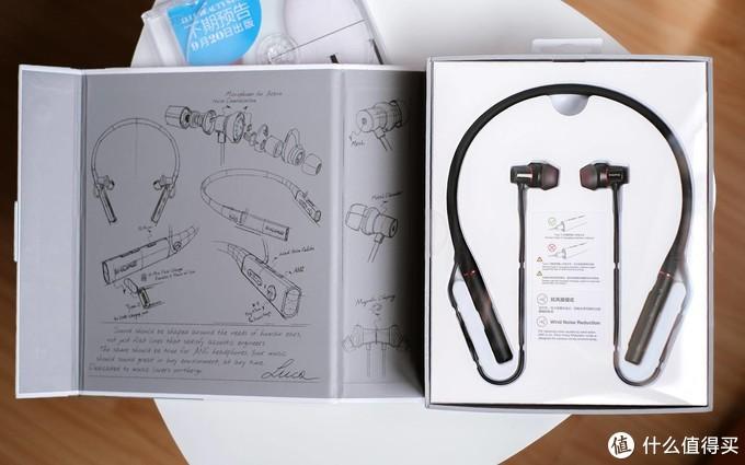 独立主动降噪芯片,双级抗风噪降噪黑科技,1MORE圈铁蓝牙耳机PRO