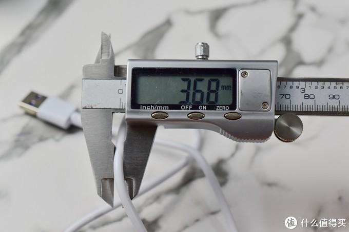 白菜但够用-PUSHI 普诗 Type-C 5A充电线 1m