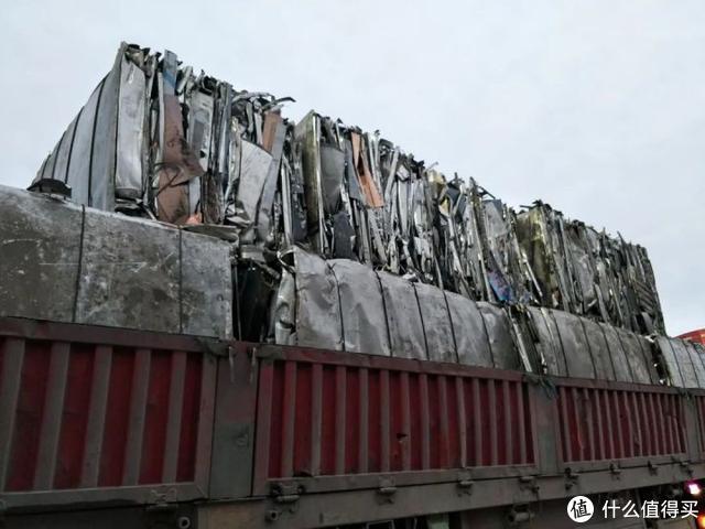△ 回收铝图示,回收铝再加工质量不能保证,强度偏低