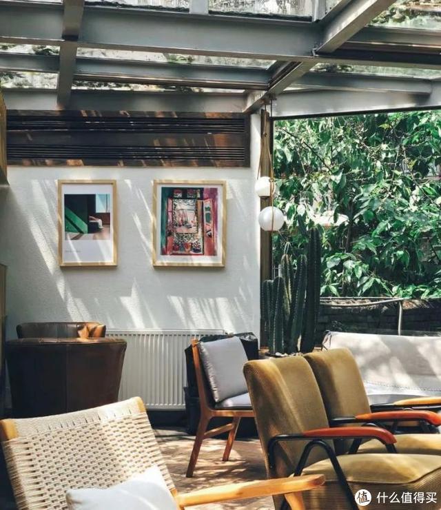 △ 阳光房的主梁、横梁一般都在室内侧;