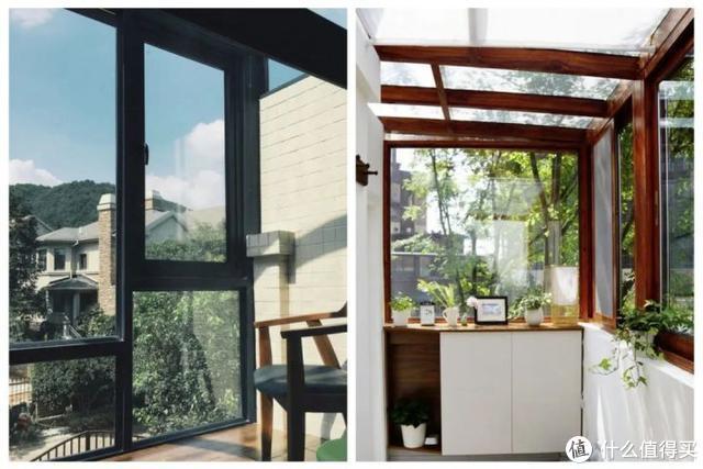△ 固定玻璃和开窗比例的正面教材;