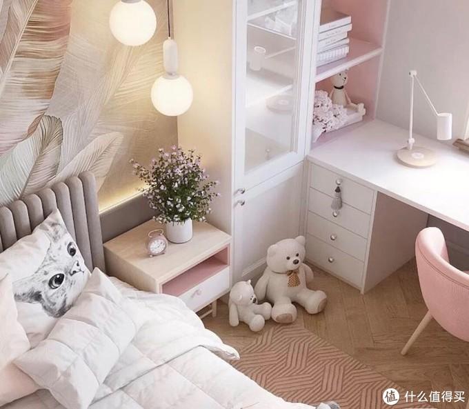 猫系少女卧室装修方案