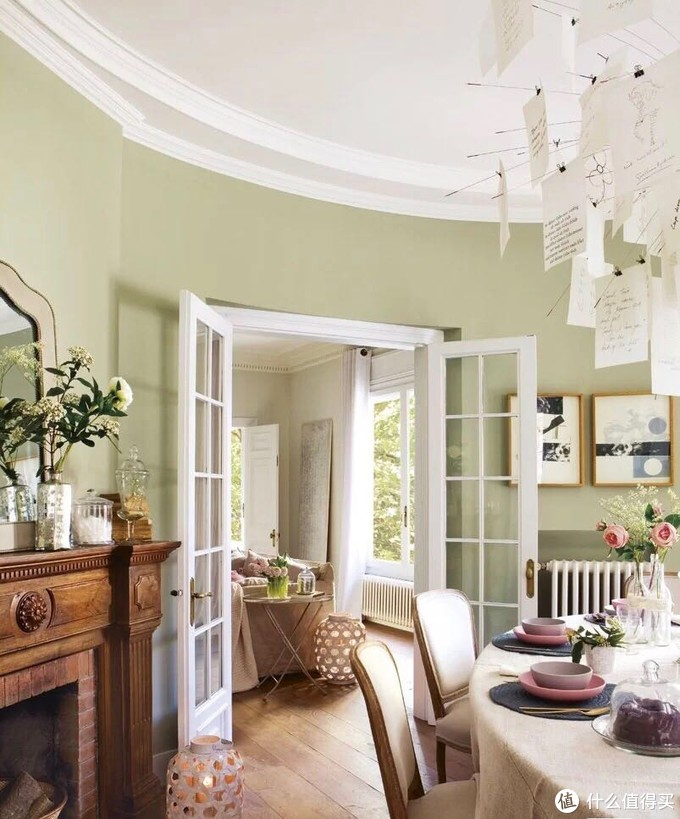 清凉抹茶绿~自带缕缕凉意的家🏠