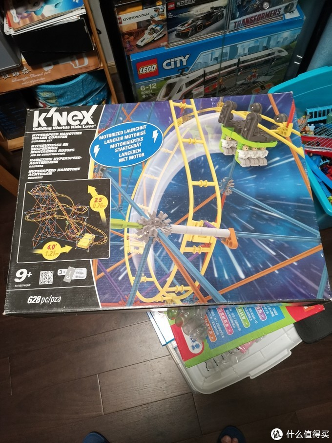 knex科乐思过山车