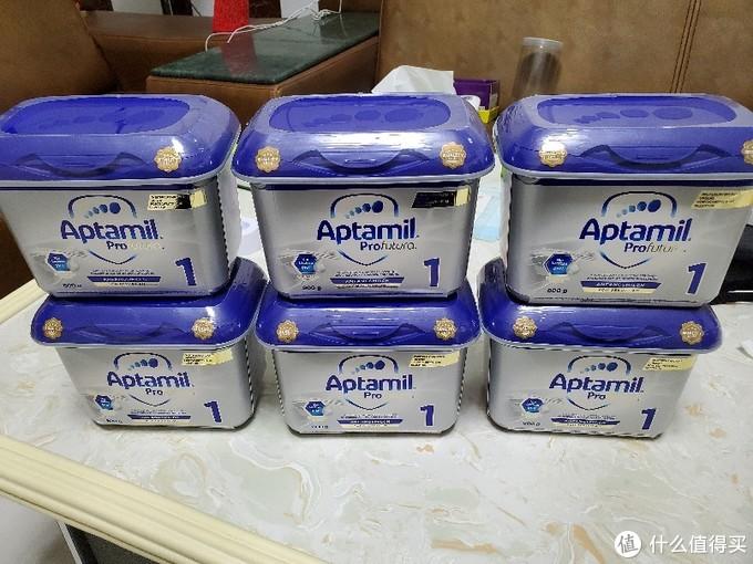 164元一罐的德国爱他美白金HMO婴儿配方奶粉1段 0-6个月 开箱