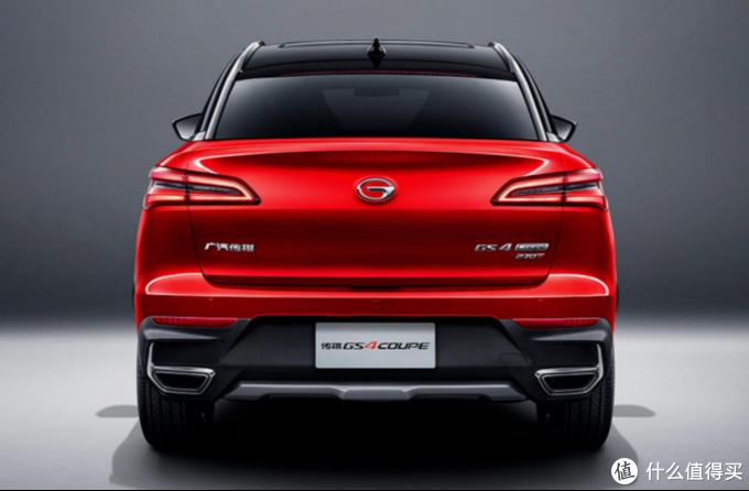 15万元轿跑SUV新秀 广汽传祺GS4 COUPE上市