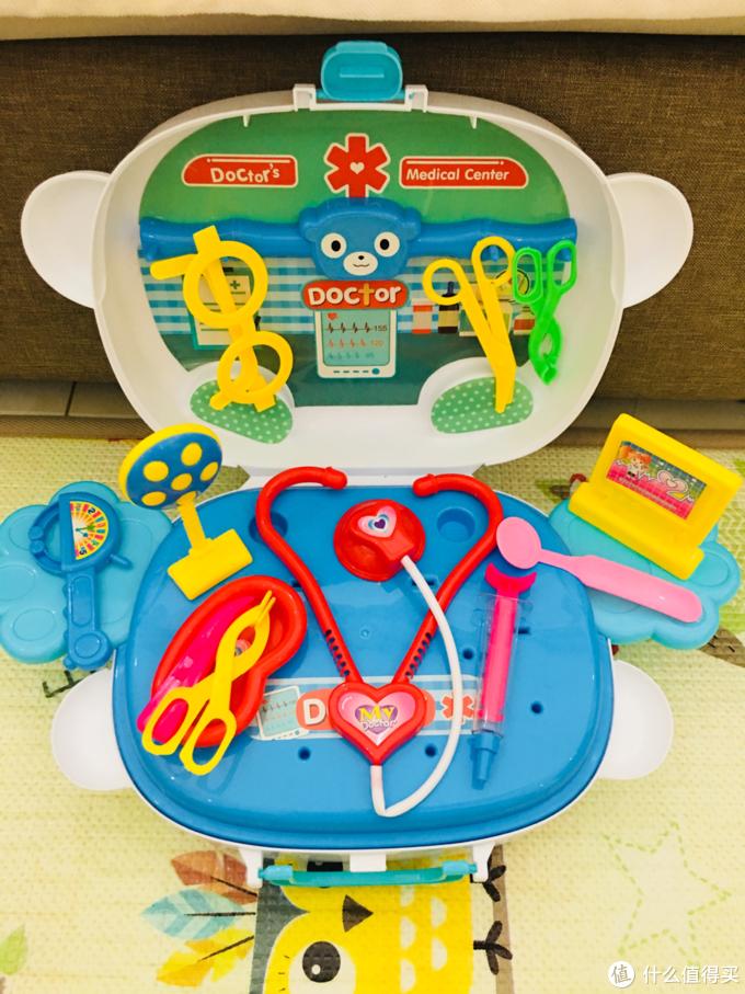 618玩具凑单佳品 勾勾手医学博士旅行箱