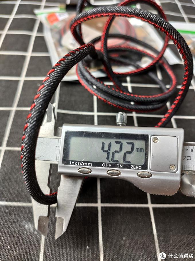 优点就是长,很长-Biaze 毕亚兹 K66 Type-C数据线 1.88米 开箱简评