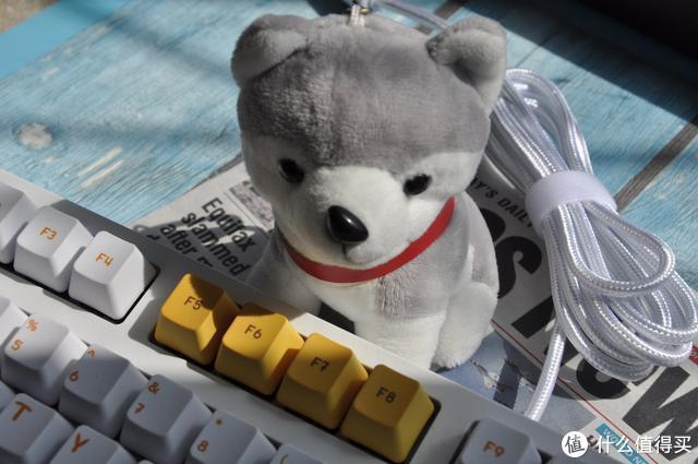 每天都要萌萌哒,可爱的人,都选AJAZZ黑爵毛茸茸机械键盘
