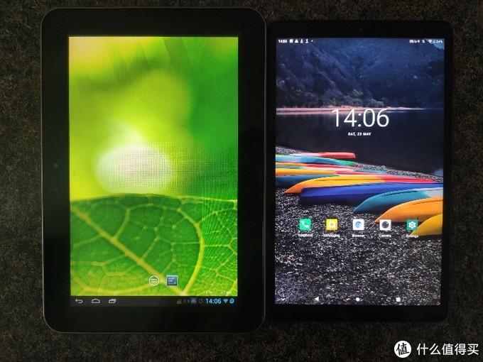 和老的Android平板对比