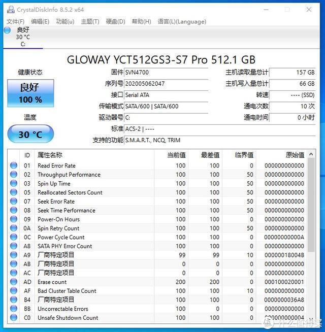 纯正血统中国芯——光威弈Pro 512G固态硬盘评测
