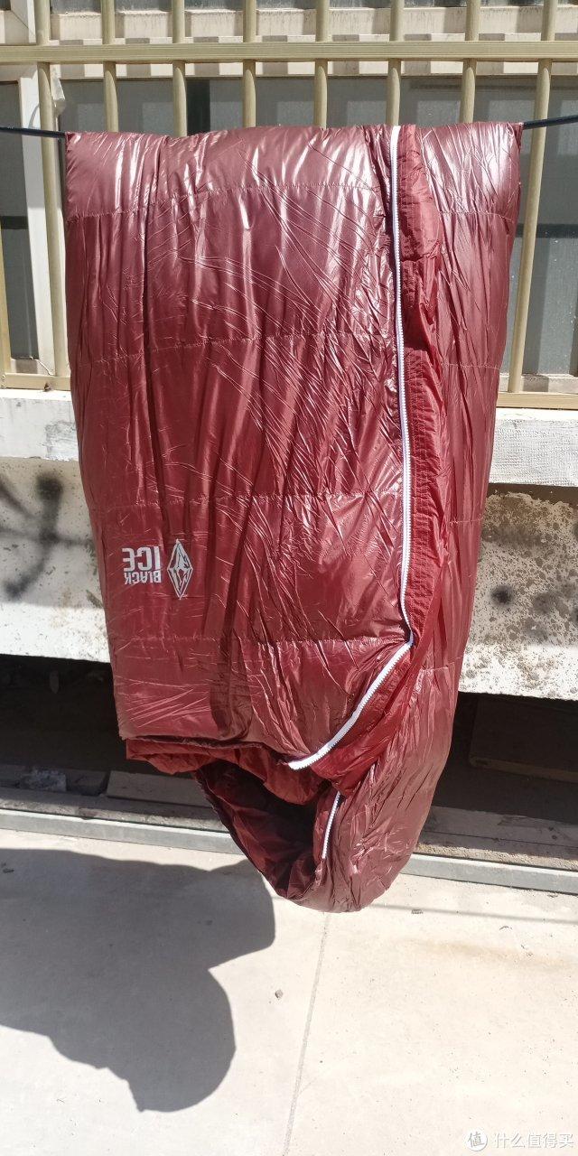 我的第一条羽绒睡袋——黑冰E1000