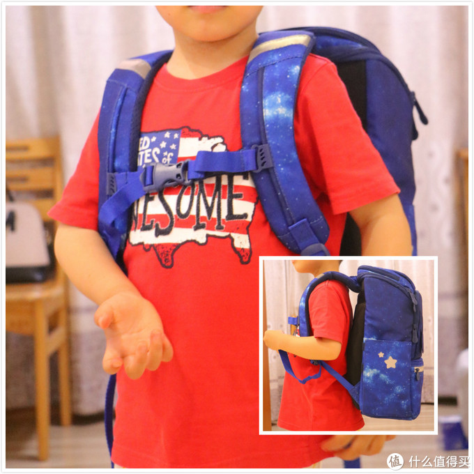 GMT for kids星际战士护脊儿童书包,守护孩子健康成长