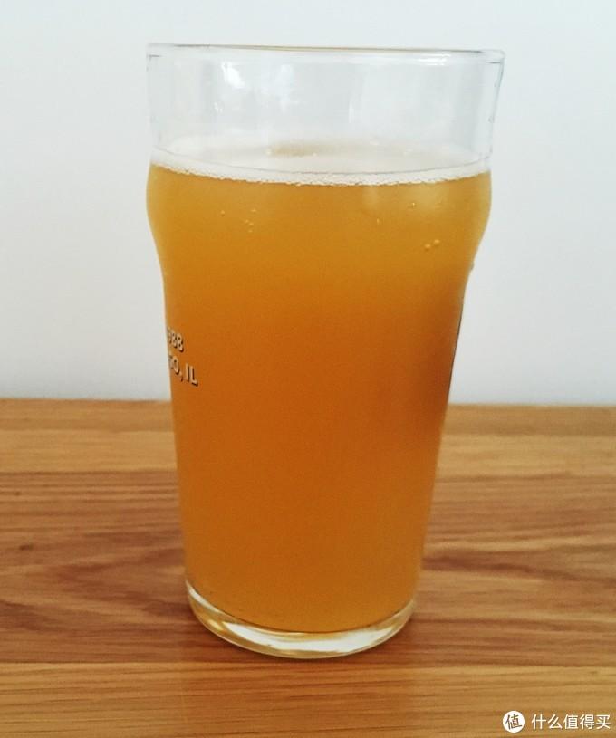 颜色有点像橙汁