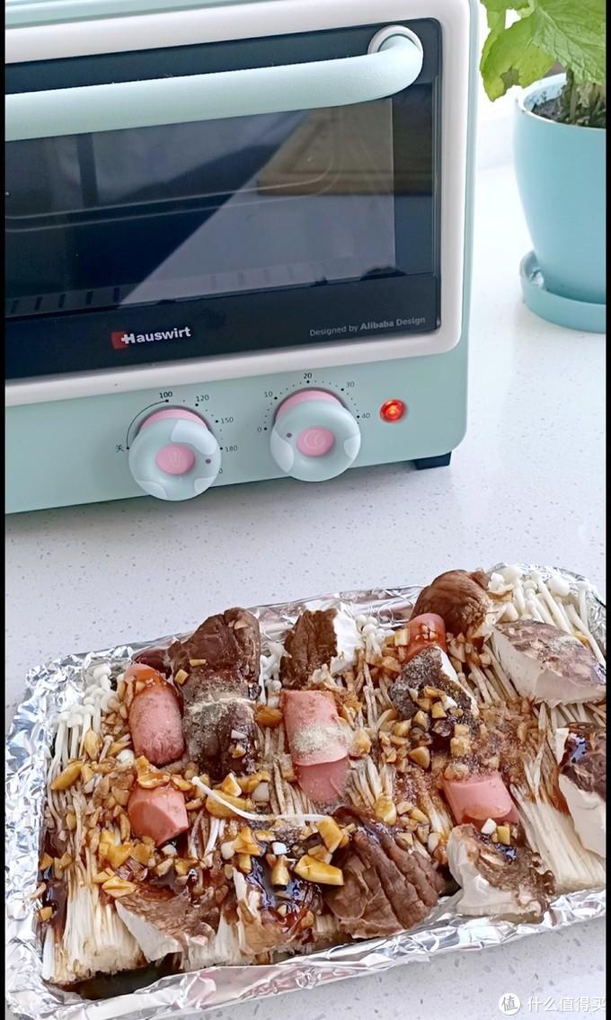 最适合单身公寓的萌物——海氏Q1小烤箱