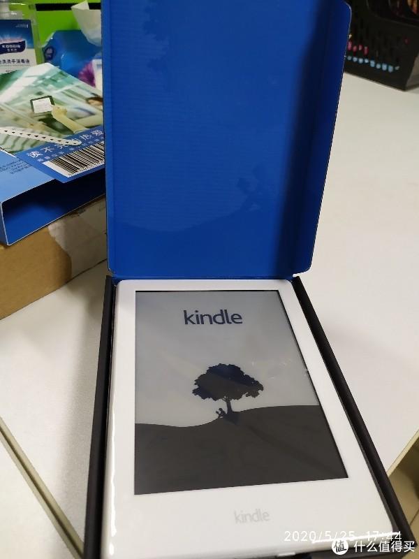 咪咕kindle阅读器0元购到手开箱照