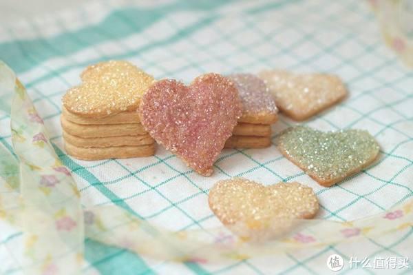 粗砂糖用于饼干表面装饰