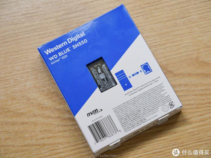 给笔记本升级了WD Blue SN550 1T :容量x4,体验翻倍