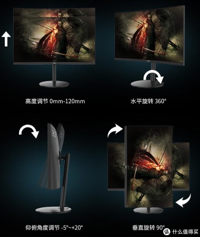 """高刷+高曲真""""香""""电竞屏:宏碁 推出 XZ270X和XZ320QX显示器 1699元起"""
