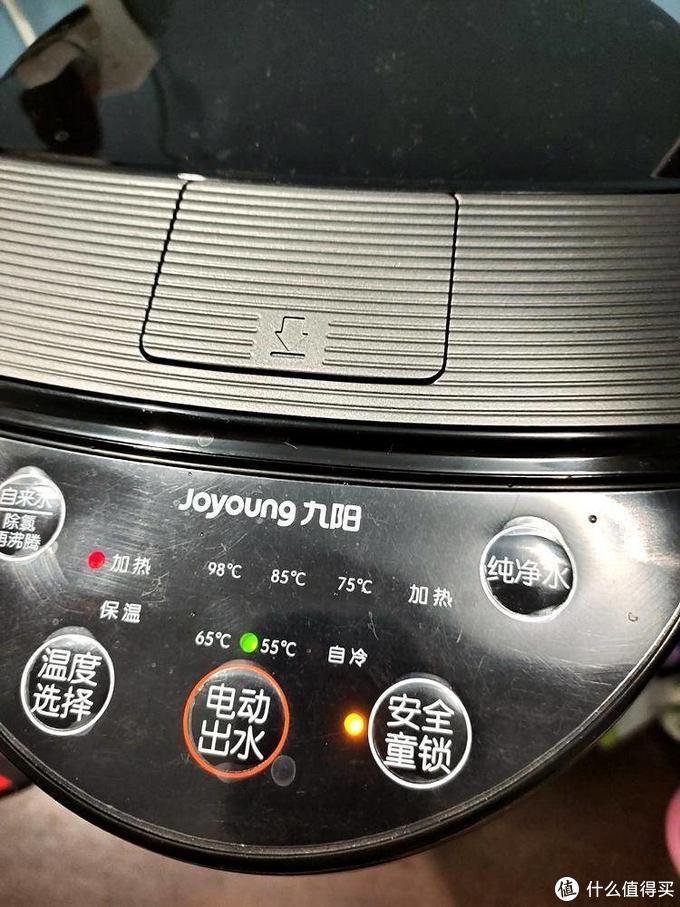 好价也好用的热水壶-Joyoung 九阳 K50-P611 恒温电热水壶 5L