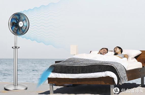 魔力风智能空气调节扇,带你领略夏天的柔爽