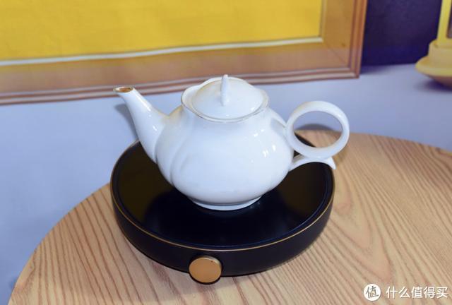 生活需要轻奢感,三界茶具S6黑金小茶炉让喝茶变得更有范