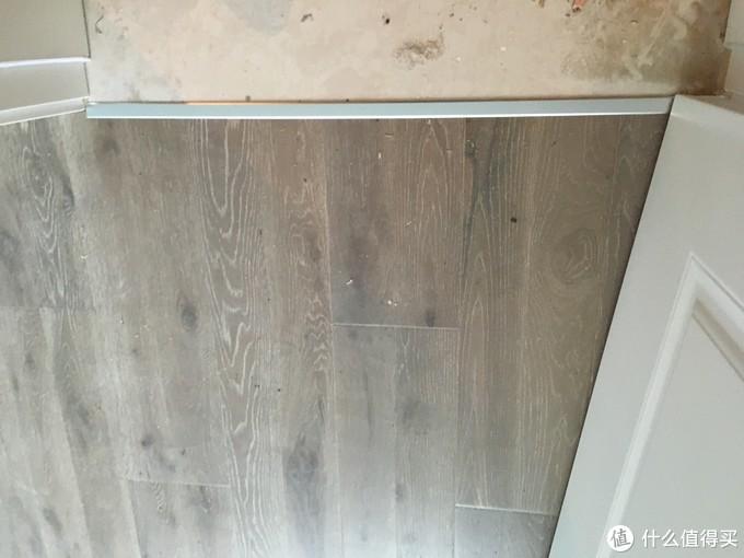 木板与瓷砖之间的卡条