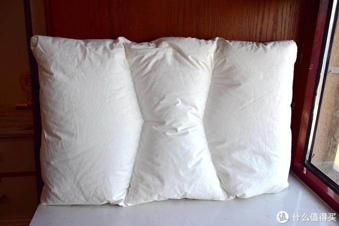 SIDANDA日本鹅绒95侧睡枕 开箱简评