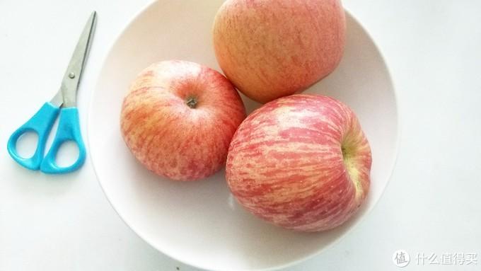 一天一个苹果🍎,削成片,一起分享