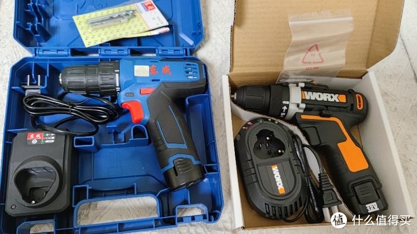 充电电钻东成WJZ1201D与威克士WX128.1开箱对比