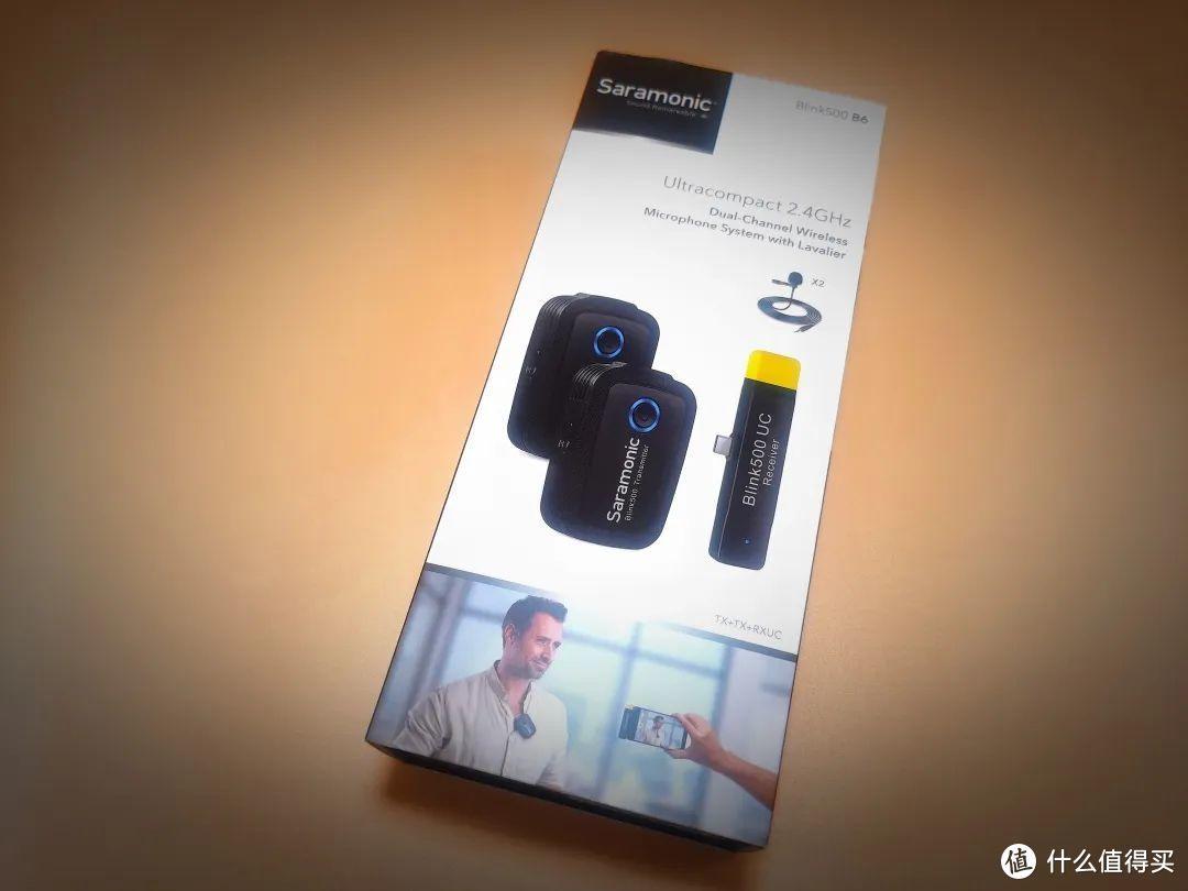 手机视频创作绝佳搭档,枫笛Blink500 无线麦克风