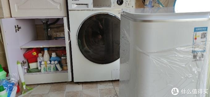 米家全自动迷你波轮洗衣机3KG体验安装,可以摆摊安装洗衣机了