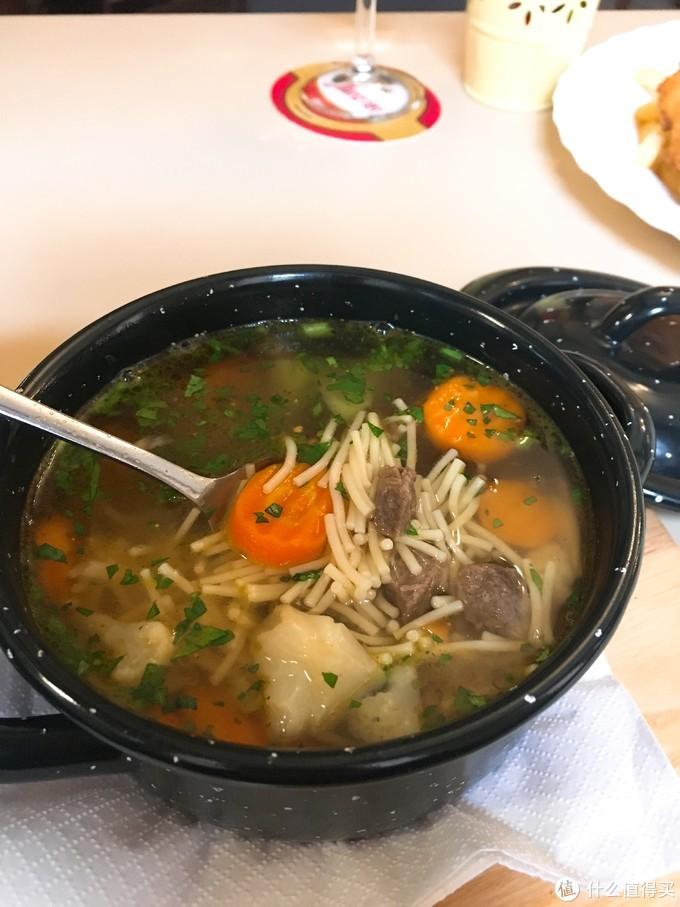 面条汤?……