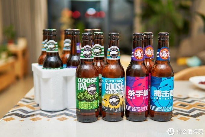 缤纷盛夏,精酿啤酒喝起来,鹅岛+拳击猫入门精酿4种口味体验