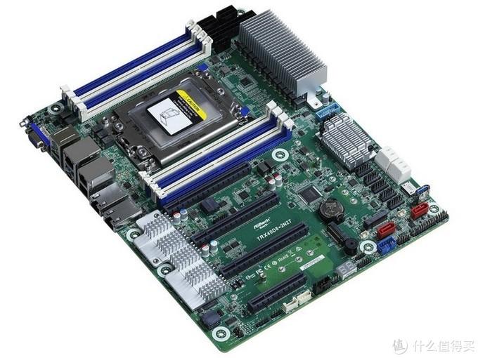 支持AMD 64核撕裂者、17块硬盘扩展,双万兆:永擎发布TRX40D8-2N2T高端服务器工作站主板