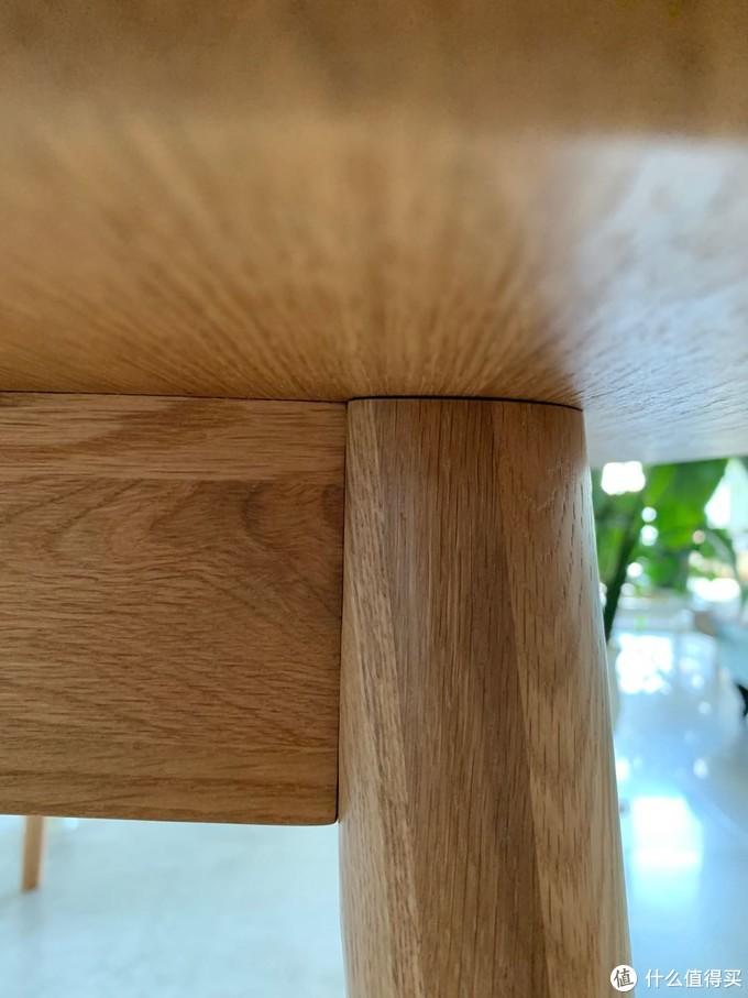 桌腿安装后严丝合缝