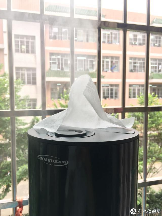 夏天必备,舒乐氏蓝岭雾加湿器测评