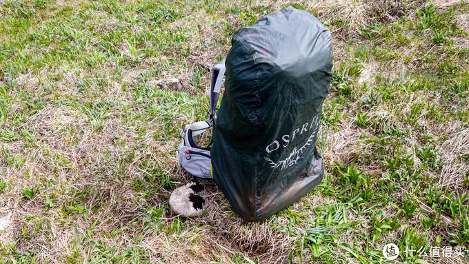 整体效果是这样的,背包外挂了帐篷