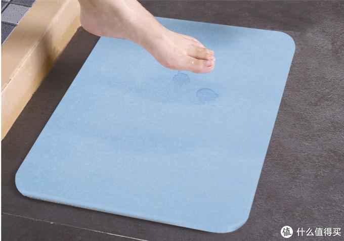 好看又实用的硅藻泥脚垫