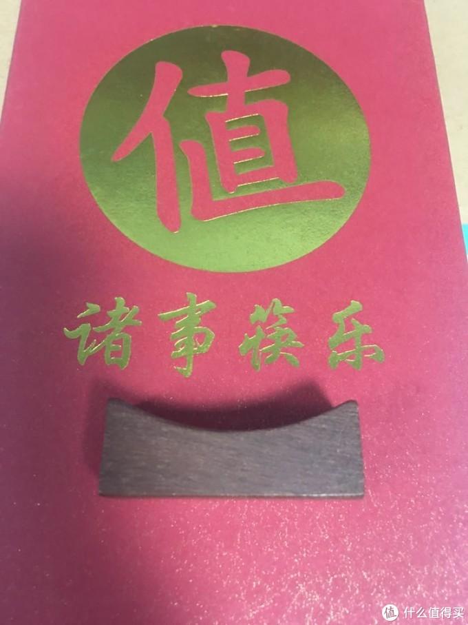 筷枕侧面可以清楚的看到木头的纹理