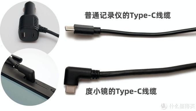 △Type-C接口不分正反,走线更方便。