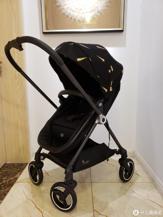 分享好物:好孩子Swan天鹅金羽碳纤维婴儿车