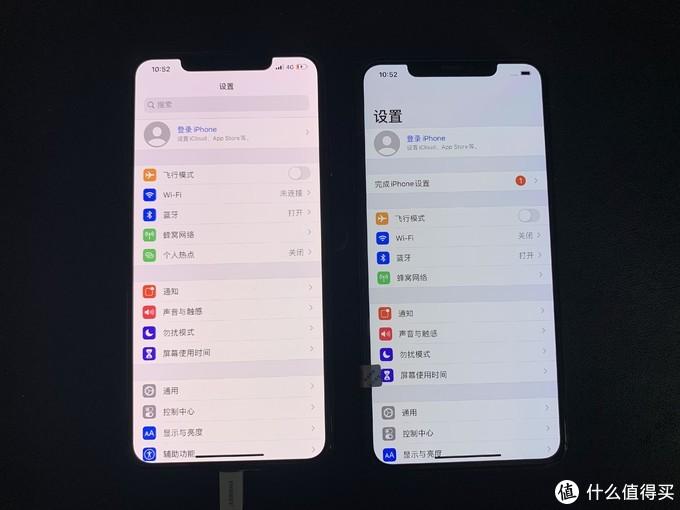 两台 iphone XS MAX 二手翻车路线