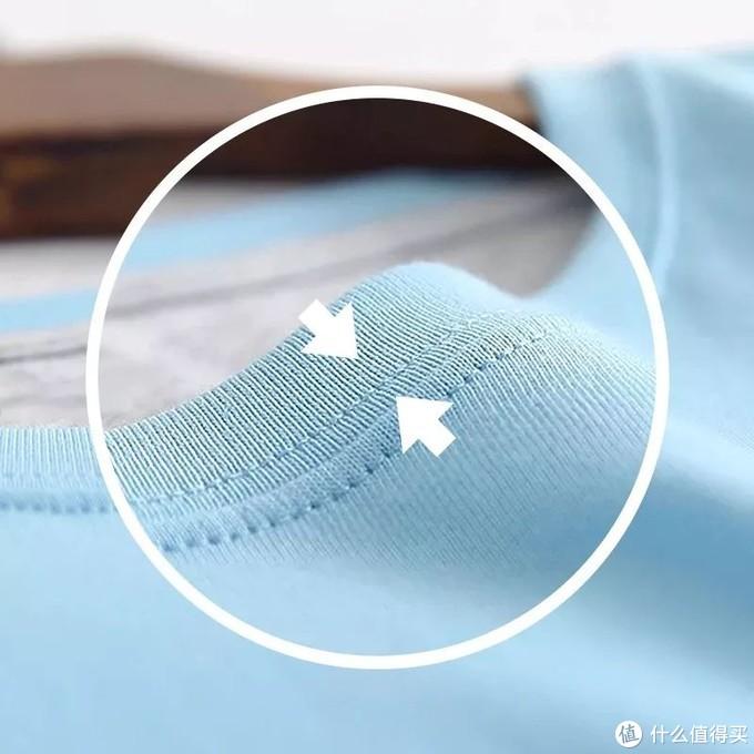 选领口不变形的T恤,不必撞大运,看这4点就够了!