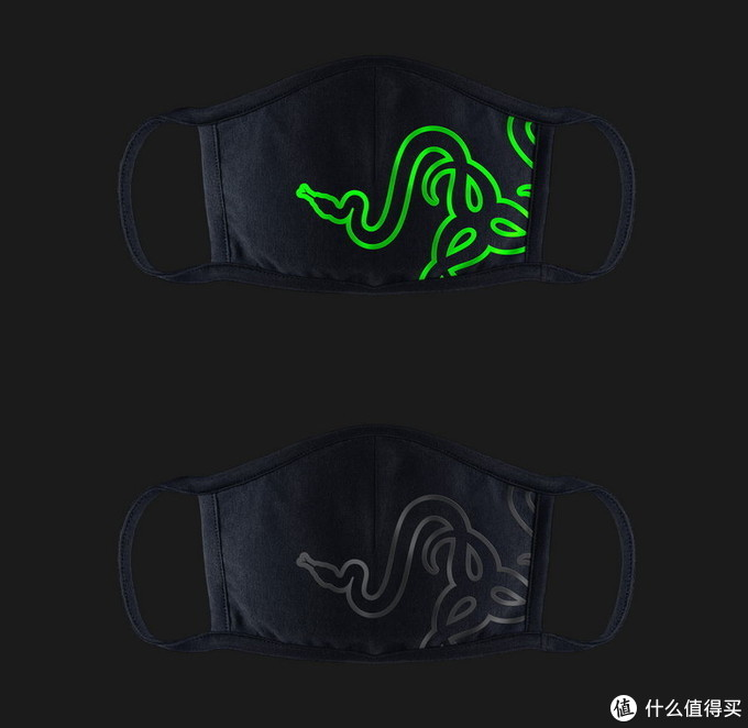 没信仰灯你会买吗?Razer雷蛇 推出CLOTH MASK滤菌口罩