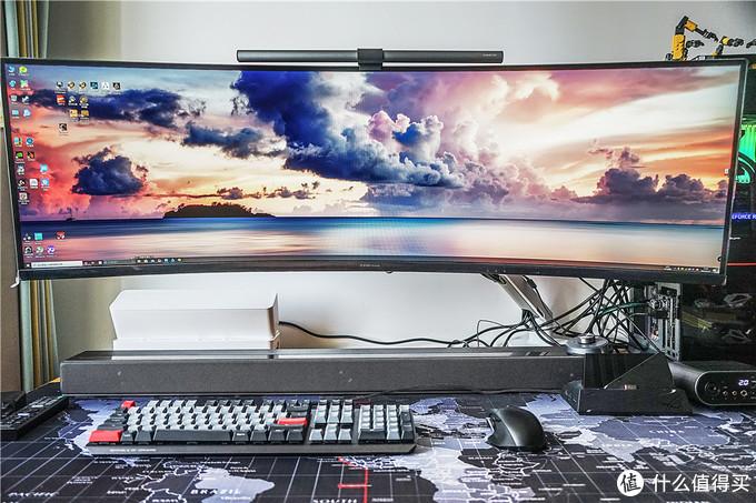 49寸大显示器一样能用的桌面显示器支架!爱格升Ergotron45-475-216体验