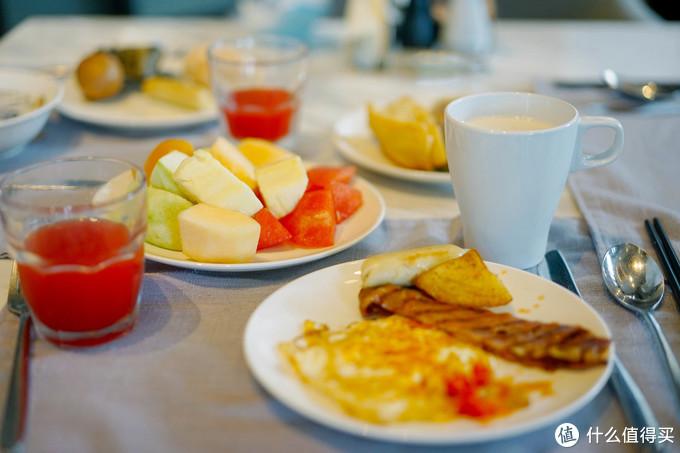 早餐中规中矩