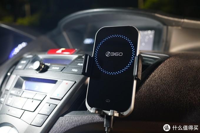 让原装车机一秒变智能的另类解决方案:360 C6车载快充头+C8语音无线充电支架