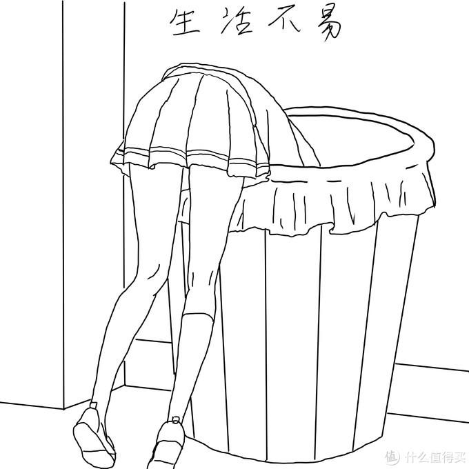 HP/华萍可压缩垃圾桶 25L开箱测评