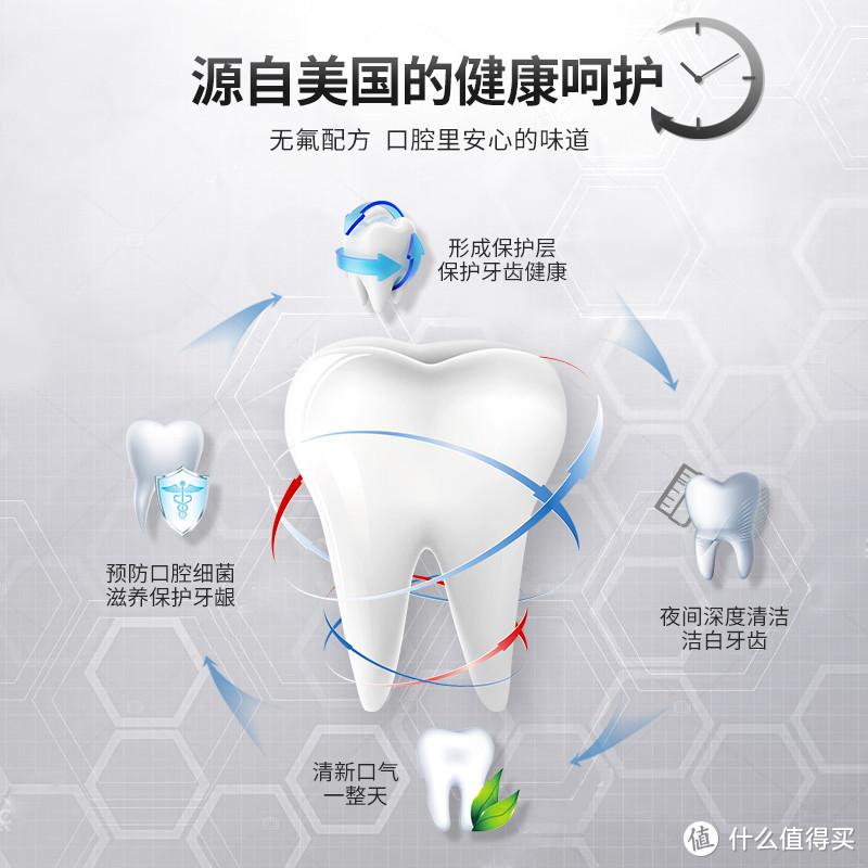 RO备长炭洁净进口牙膏100g洁白去渍不伤牙